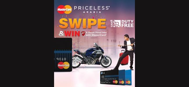 Swipe & Get A Chance To Win A Ducati Diavel Bike With MasterCard